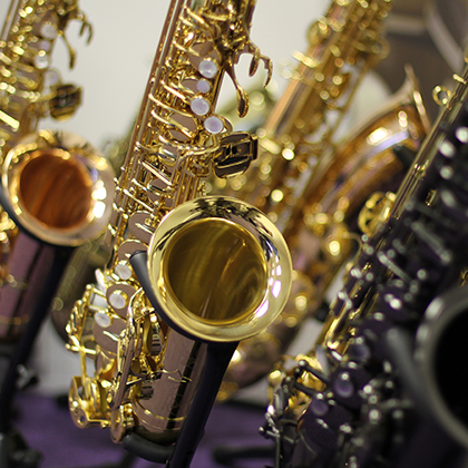 Choose your Trevor James Saxophone